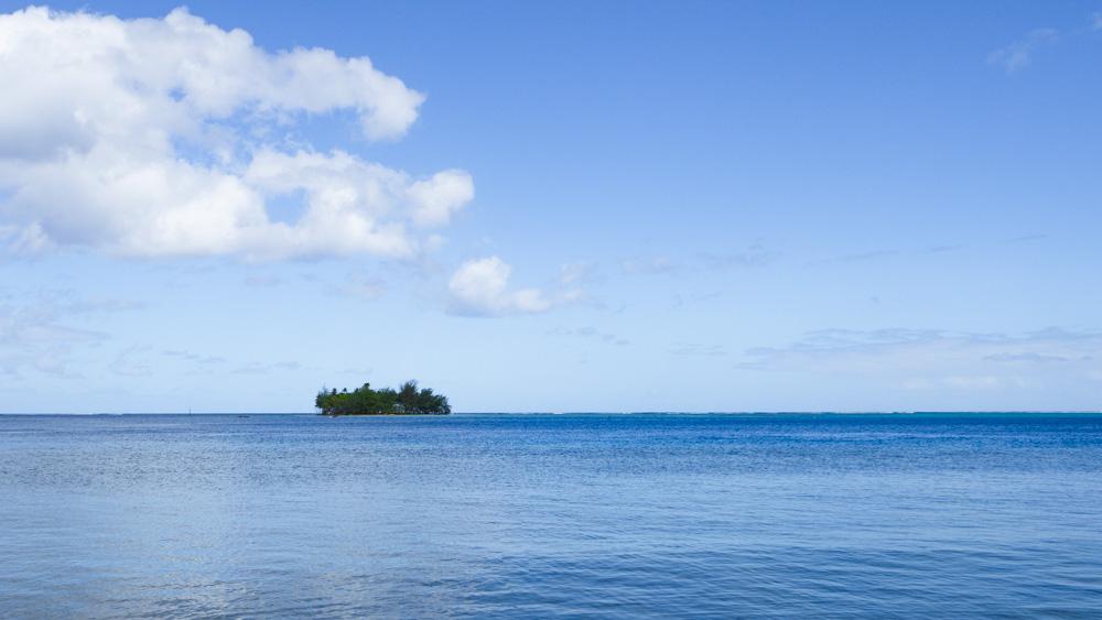 A motu off of Raiatea, French Polynesia