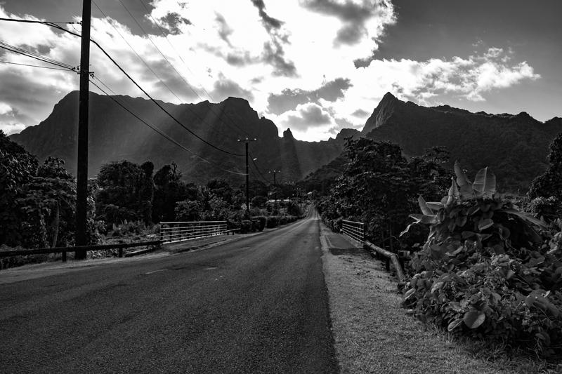 Exploring Raiatea by car, French Polynesia