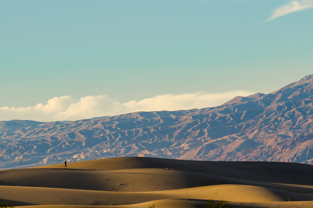 Mesquite Flat Sand Dunes, Death Valley Roadtrip, California