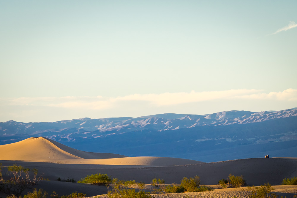 Mesquite Flat Sand Dunes, Death Valley Roadtrip, California | California Highlights