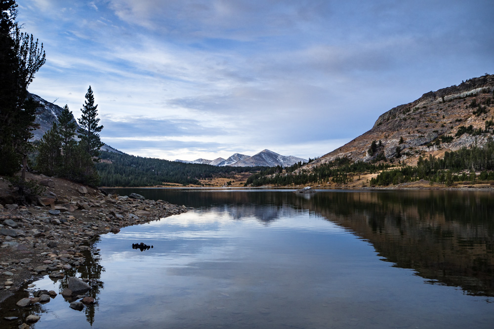 Sunrise at Tioga Lake, Tioga Pass | Roadtrippin' California
