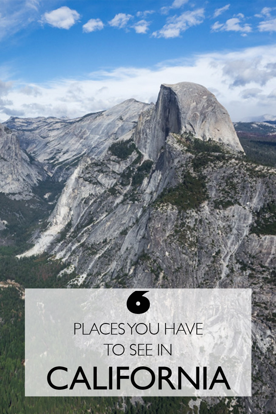 Six Places You Have To See In California | California Roadtrip | Big Sur | San Francisco | Death Valley | Yosemite | Sequoia National Park | Lake Tahoe
