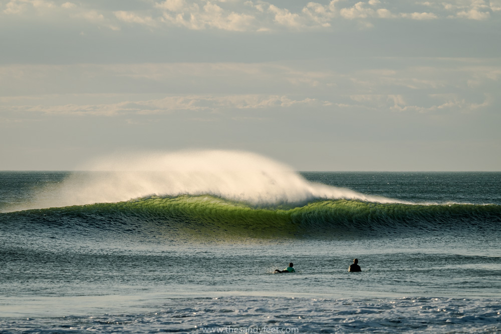 Surfing at Miramar Point with Surf Tours Nicaragua