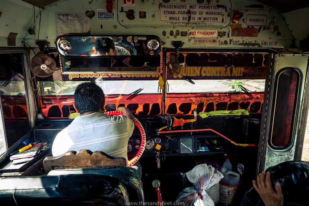 Leaving Ometepe