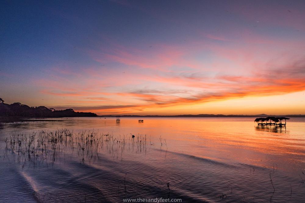 Sunset at Moyogalpa, Ometepe   Nicaragua Next Destination