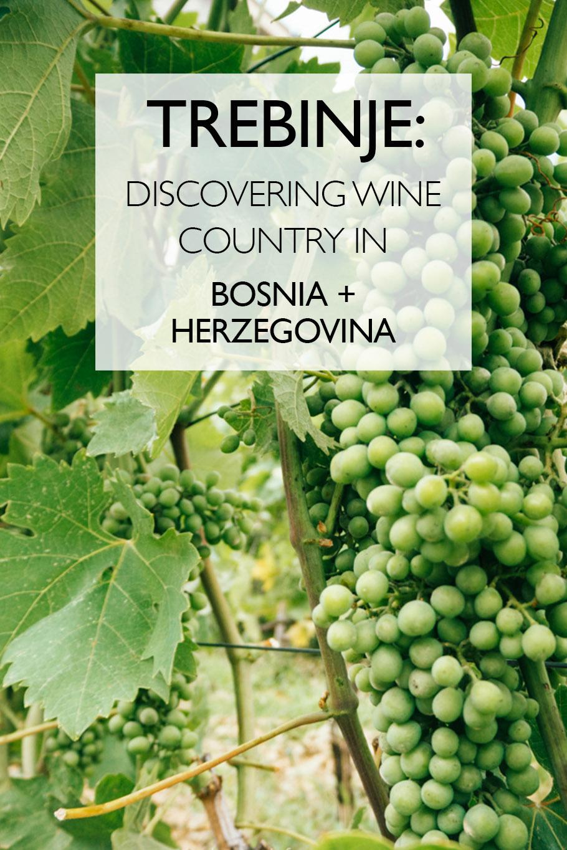 Trebinje: Discovering Wine Country In Bosnia and Herzegovina | Balkans | Eastern Europe