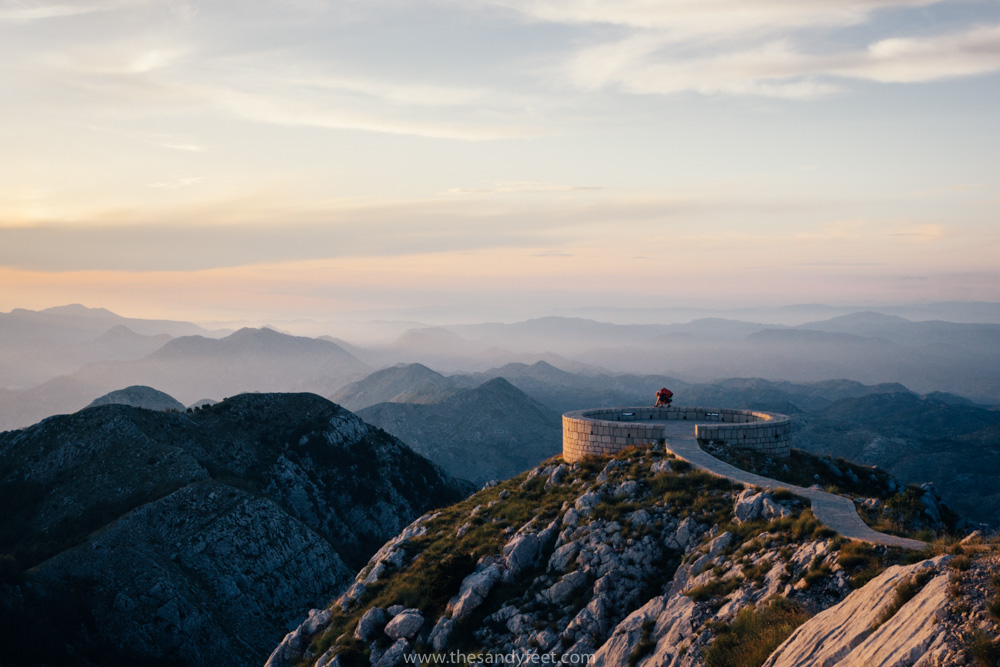 The Best Places To Visit In Montenegro | 8 Adventurous Things To Do In Montenegro | Sunset At Lovcen National Park