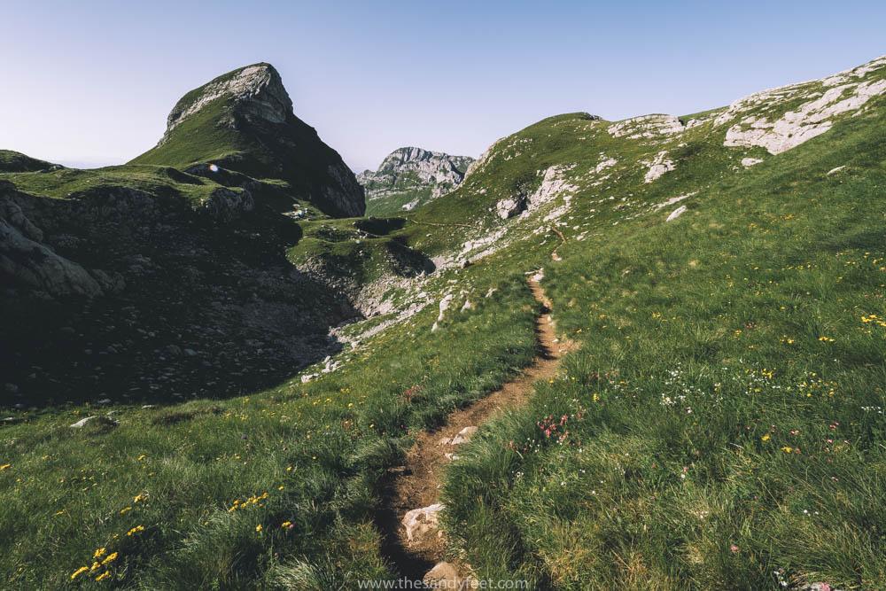 Hiking to Bobotov Kuk Mountain
