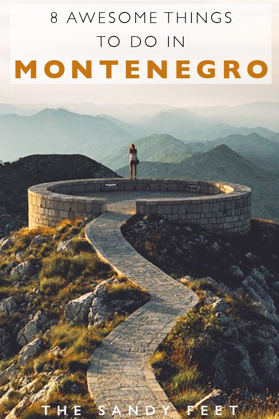 8 Adventurous Things To Do In Montenegro: All The Best Places To Visit In Montenegro Including Durmitor National Park, Lovcen National Park, Kotor, Adriatic Beaches, Rafting Tara River and more!