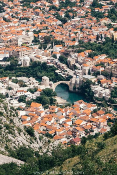 View From Mostar Cross | Best Mostar Tour