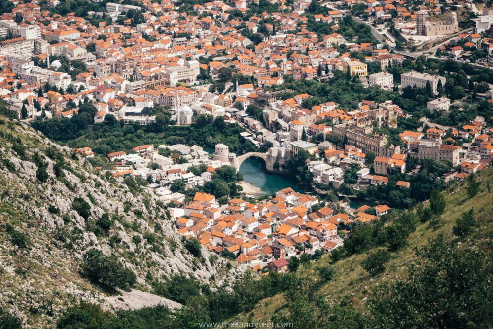 View From Mostar Cross | Best Mostar Tour