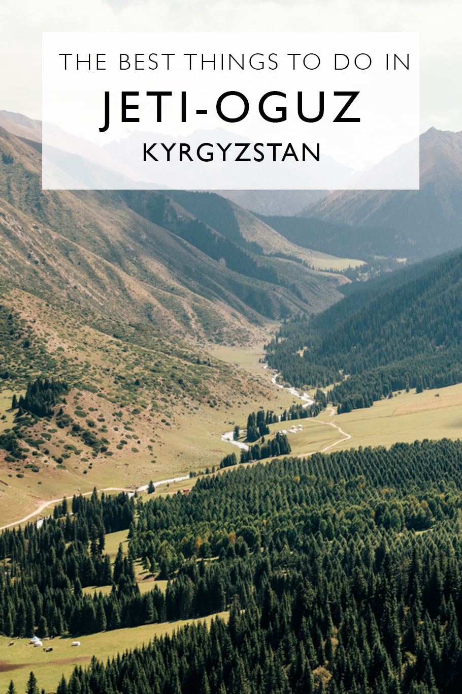 A Short Guide To Jeti-Oguz | Kyrgyzstan *** Things To Do In Jeti-Oguz, Kyrgyzstan | Hiking Near Karakol | Hiking In Kyrgyzstan | Day Trips From Karakol | Visiting The Valley Of Flowers | The Seven Bulls Of Kyrgyzstan