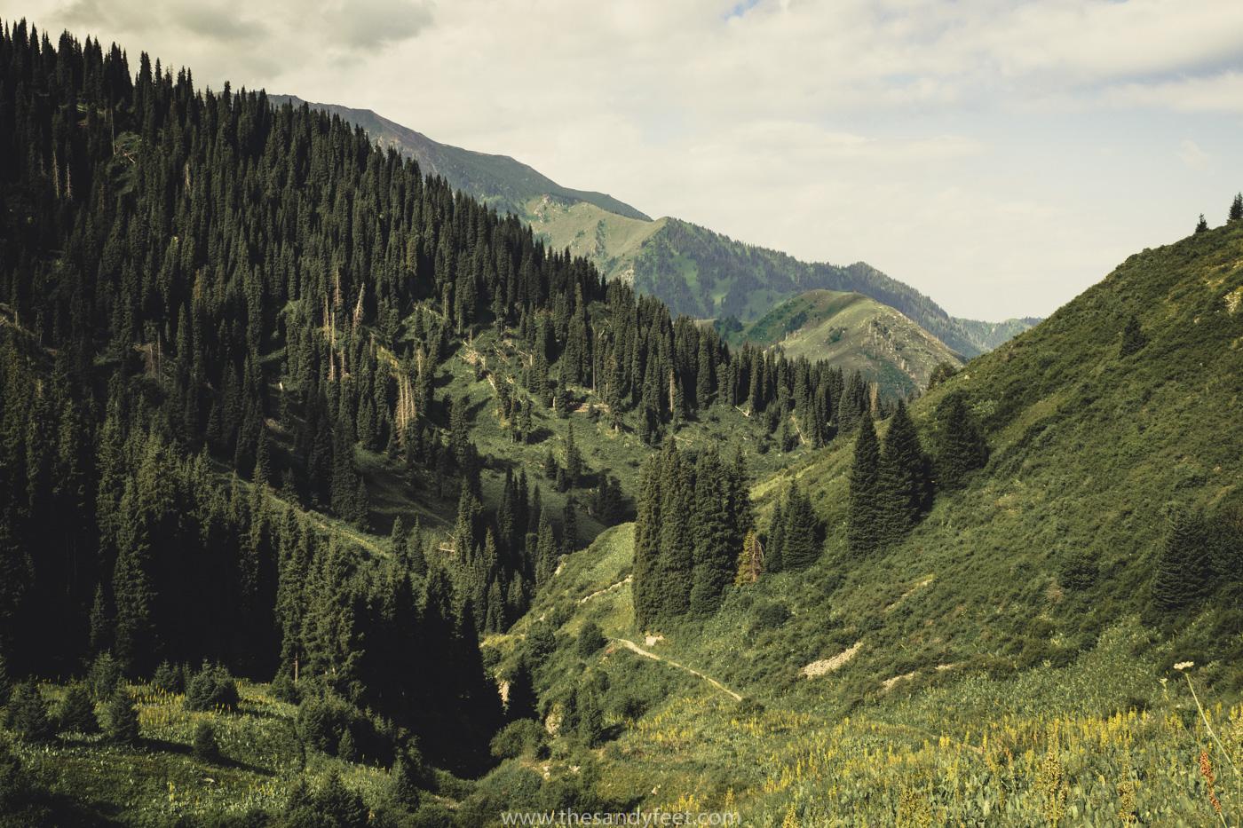 The Four Peaks Trail: Our Favourite Hiking Trail Near Almaty | Hike near Almaty | Medeu | Shymbulak | Almaty Mountains