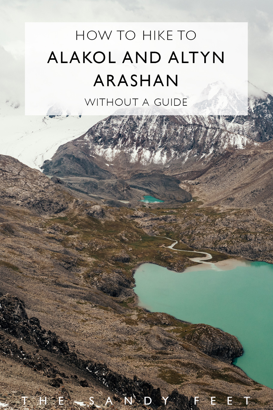 The Most Beautiful Hike In Kyrgyzstan: Hiking from To Alakol and Altyn Arashan Without A Guide