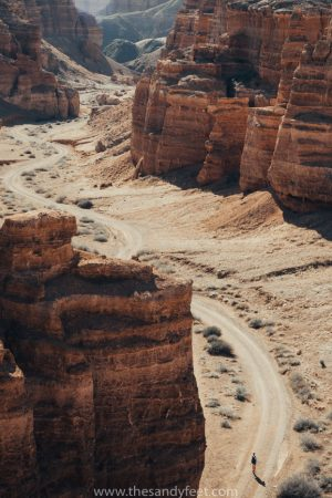 A Complete Guide To Charyn Canyon. Kazakhstan. Central Asia Itinerary.