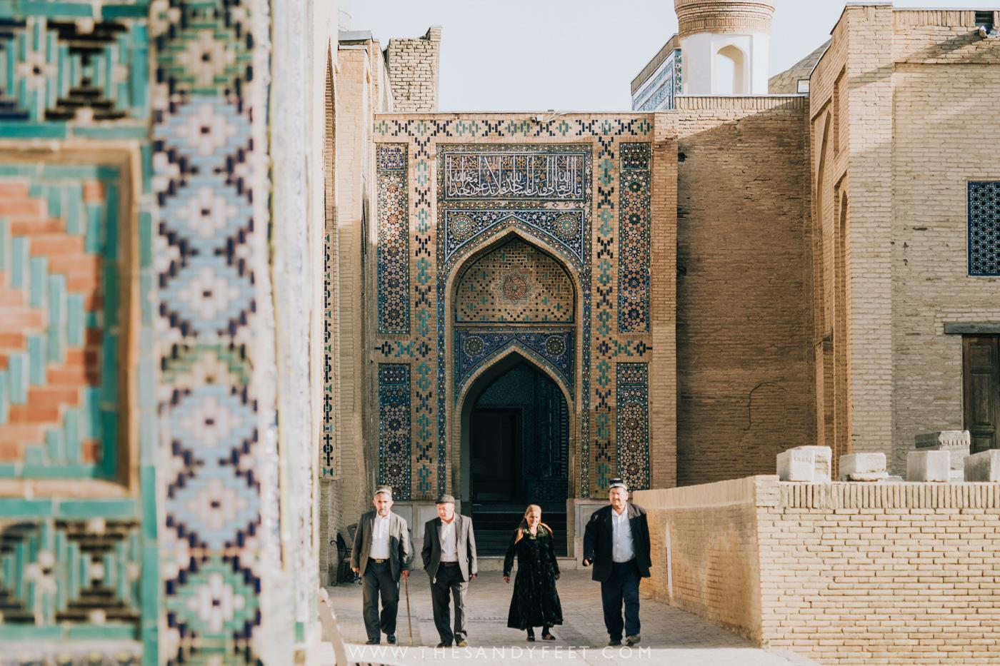 Arriving at Shah-I-Zinda | Samarkand Travel Guide: The Best Things To Do In Samarkand, Uzbekistan