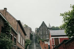 Climbing the soaring staircase of Montagne de Bueren   Top Things To Do In Liege in Belgium's Wallonia Region.