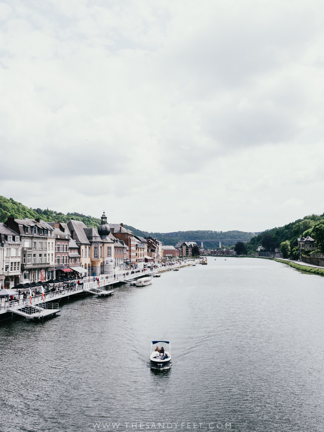 Visit the riverside town of Dinant | A perfect weekend itinerary in the Namur region and one of the best things to do in Namur and Belgium's Wallonia Region.