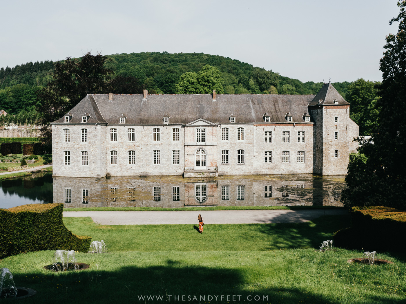Les Jardins d'Annevoie | A perfect weekend itinerary in Belgium and one of the best things to do in and around Namur and Dinant in Belgium's Wallonia Region.