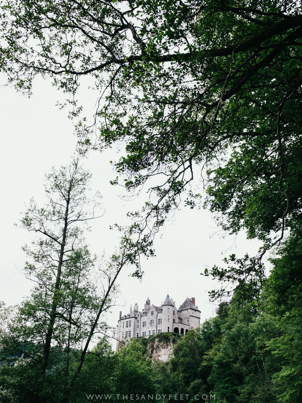 Kayaking the Lesse Valley past Walzin Castle | Top Things To Do In Belgium's Wallonia Region