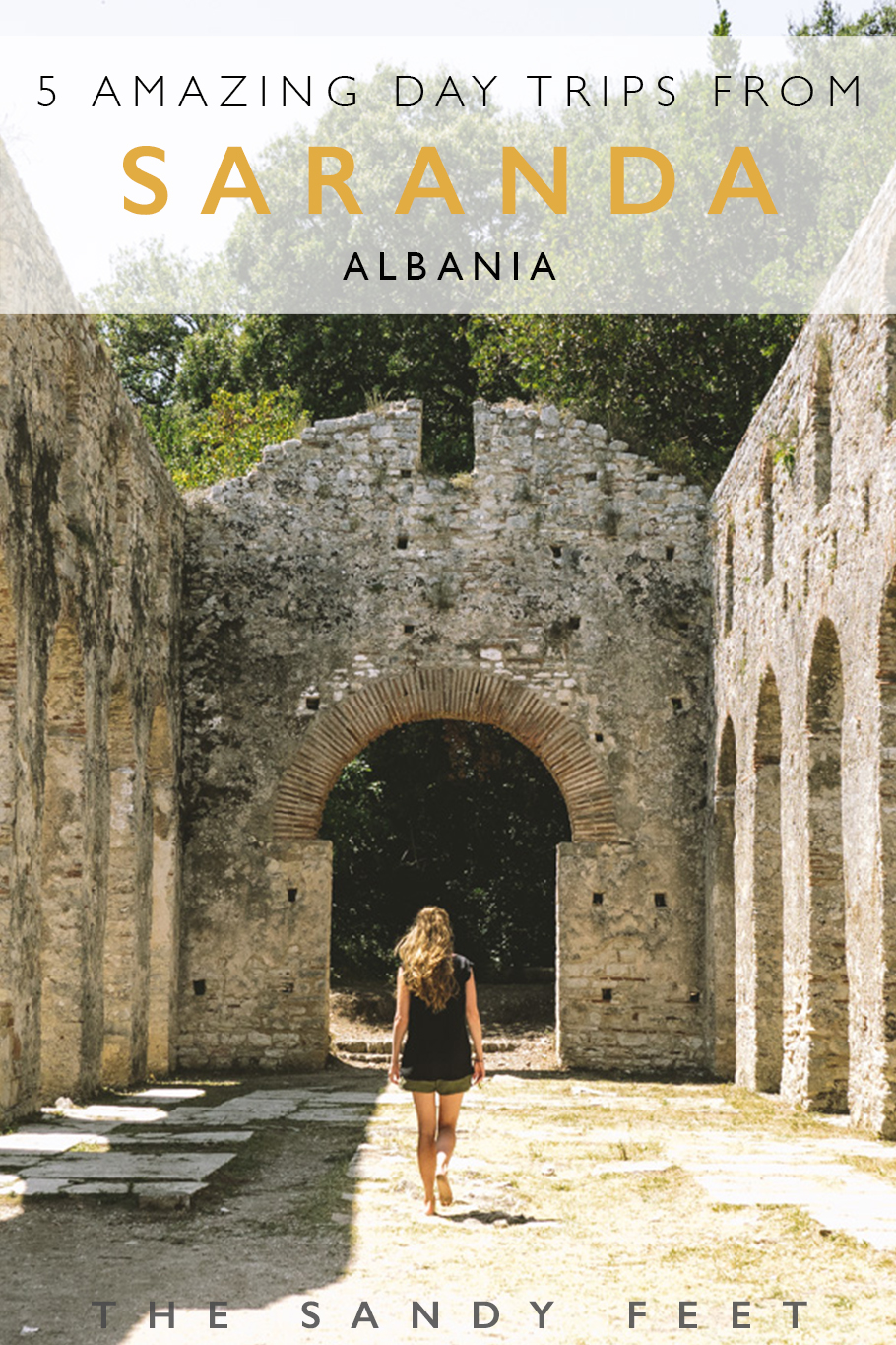 5 Amazing Day Trips From Saranda | Albania. Saranda can get a little hectic in summer, but luckily it's also a perfect jump off point for a number of excellent day trips, including Butrint National Park, Ksamil, the Blue Eye and Gjirokaster.