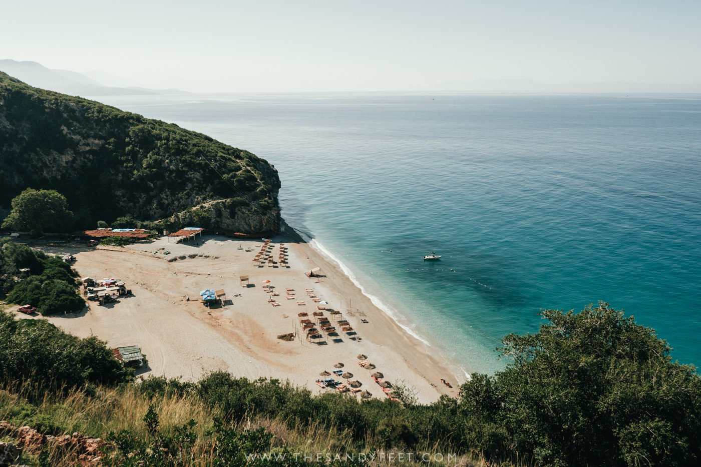 Looking Down On Gjipe Beach | The Best Beaches In Albania
