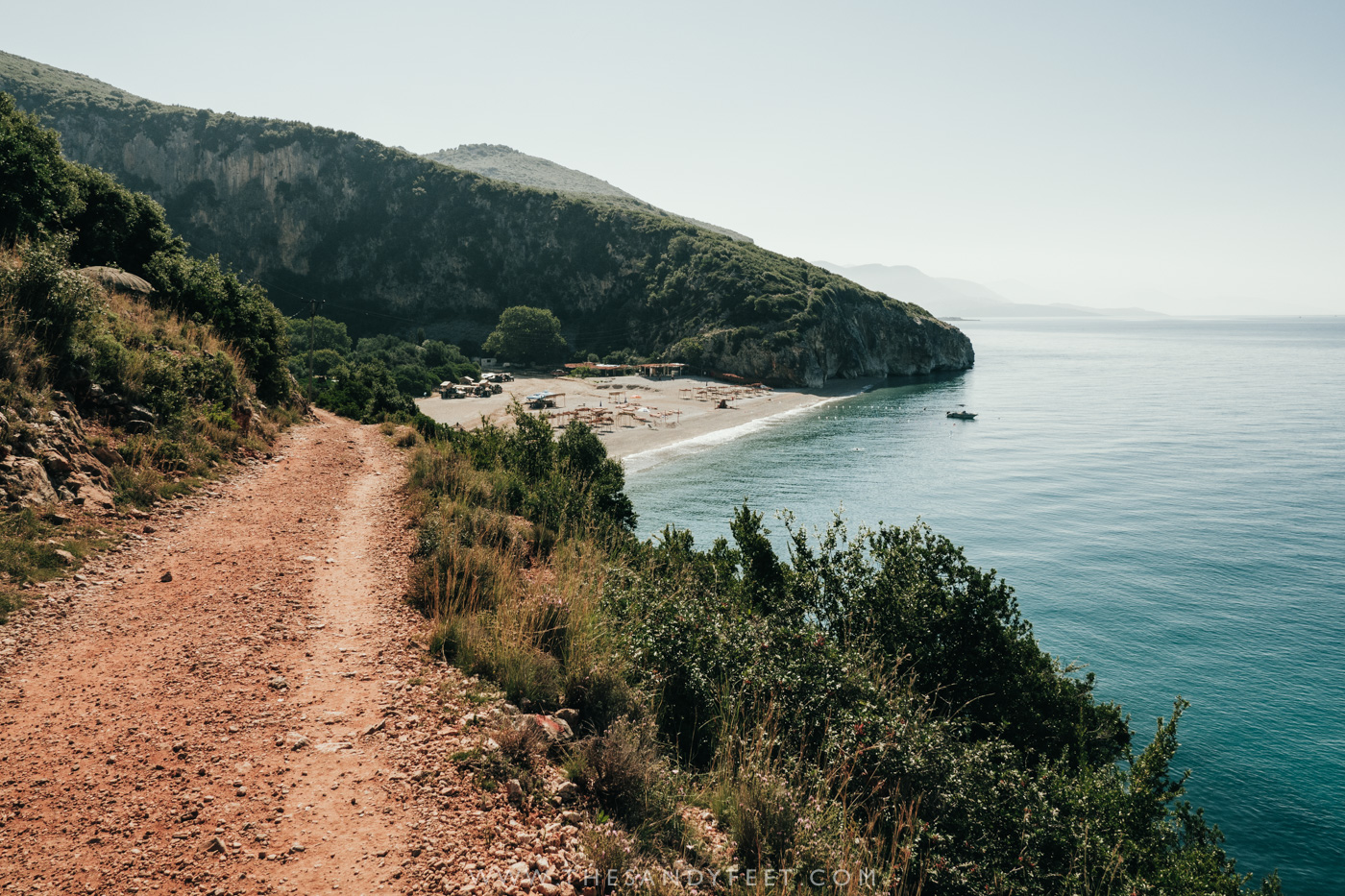 The Trail To Gjipe Beach | How To Plan A Fantastic Day Trip To Gjipe Beach Albania
