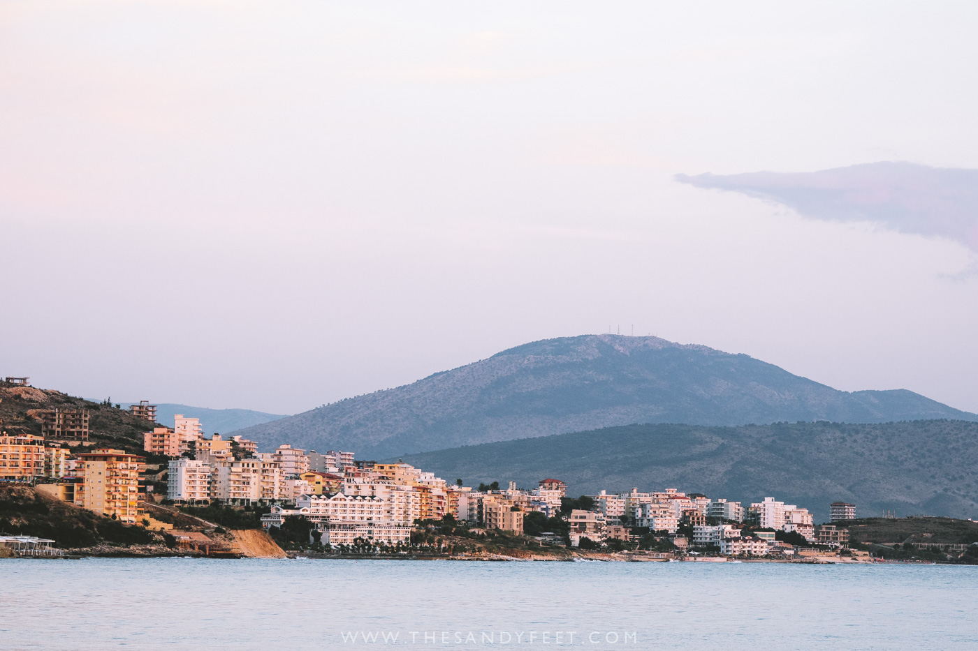 Sunset Over Saranda | The Ultimate Guide To The Albanian Riviera : Where To Find The Best Albanian Beaches