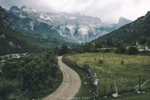 Arriving in Theth | The Albanian Alps: Theth to Valbona Hike