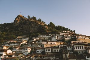 Views Of Mangalem in Berat, Albania: A Short Guide To Albania's Stunning City Of A Thousand Windows.