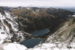 Rysy Peak. High Tatras Slovakia. High Tatra Mountains