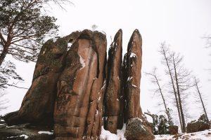 stolby national park. stolby nature reserve. krasnoyarsk russia.