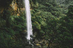 sandiaoling waterfall trail. taipei day trips. pingxi line.